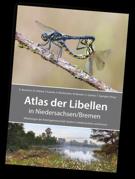 Cover des Atlas der Libellen in Niedersachsen/Bremen